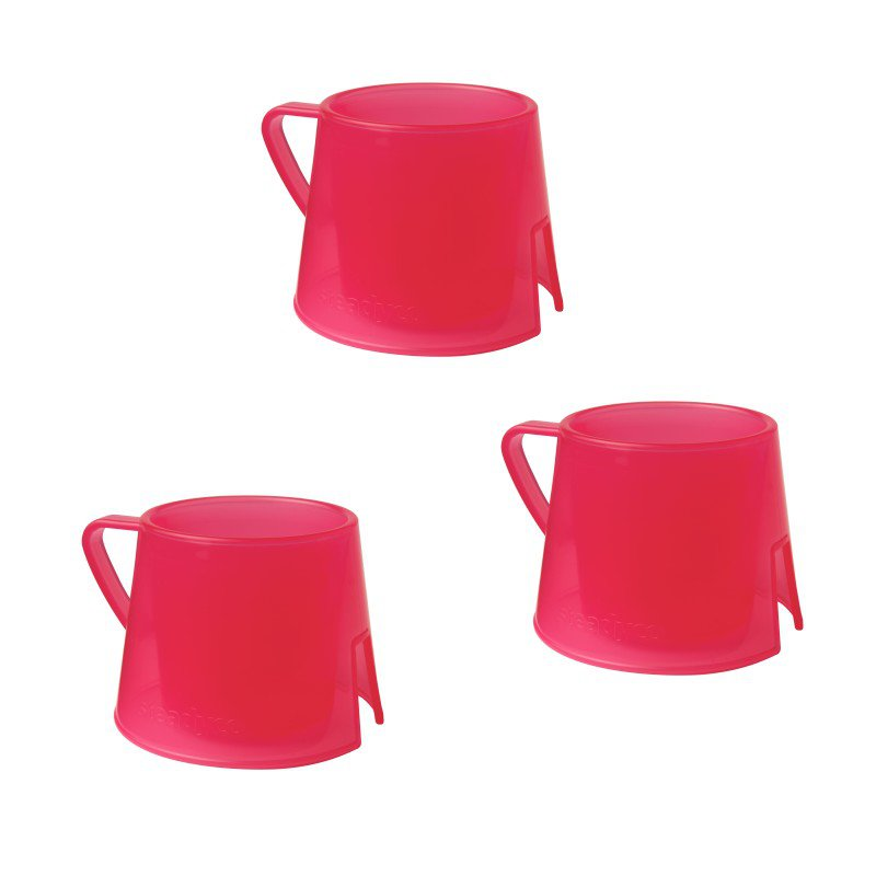 Hrneček Steadycup® 3pack Red