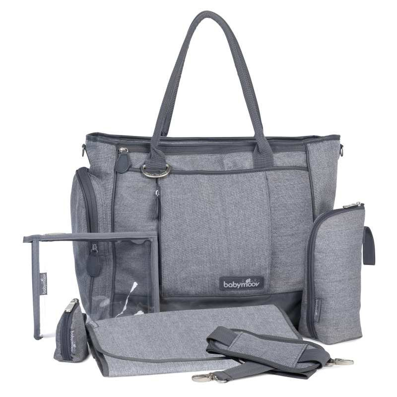 Babymoov taška Essential Bag Smokey