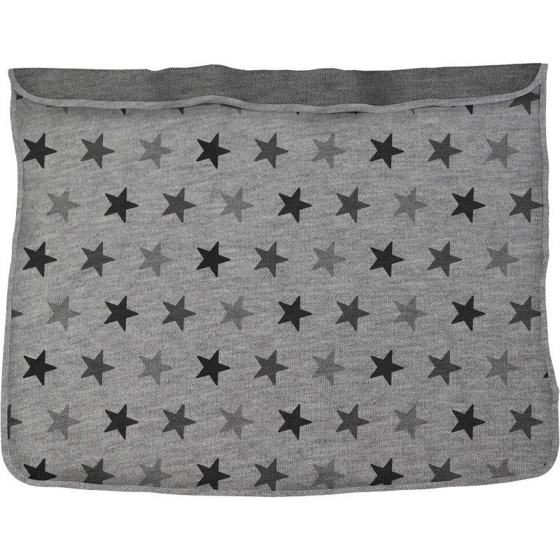 Deka Blanket Grey Stars