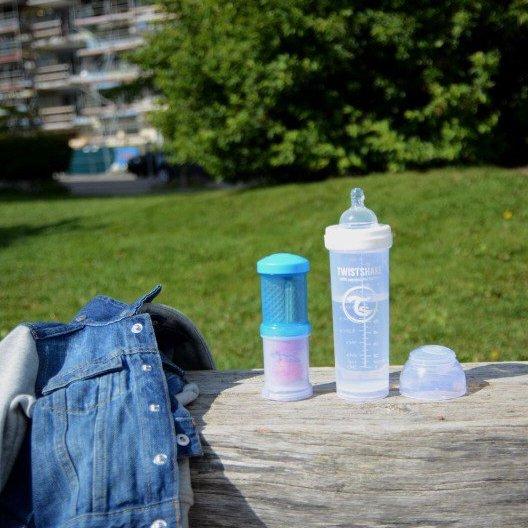 Twistshake zásobník 2ks BLUE