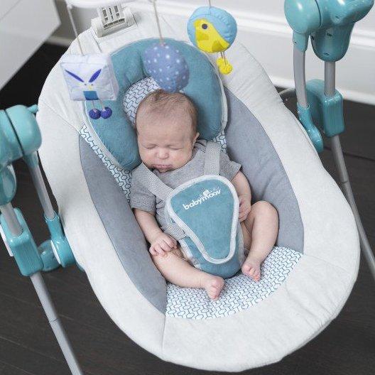 Babymoov houpačka Swoon Bubble Aluminium