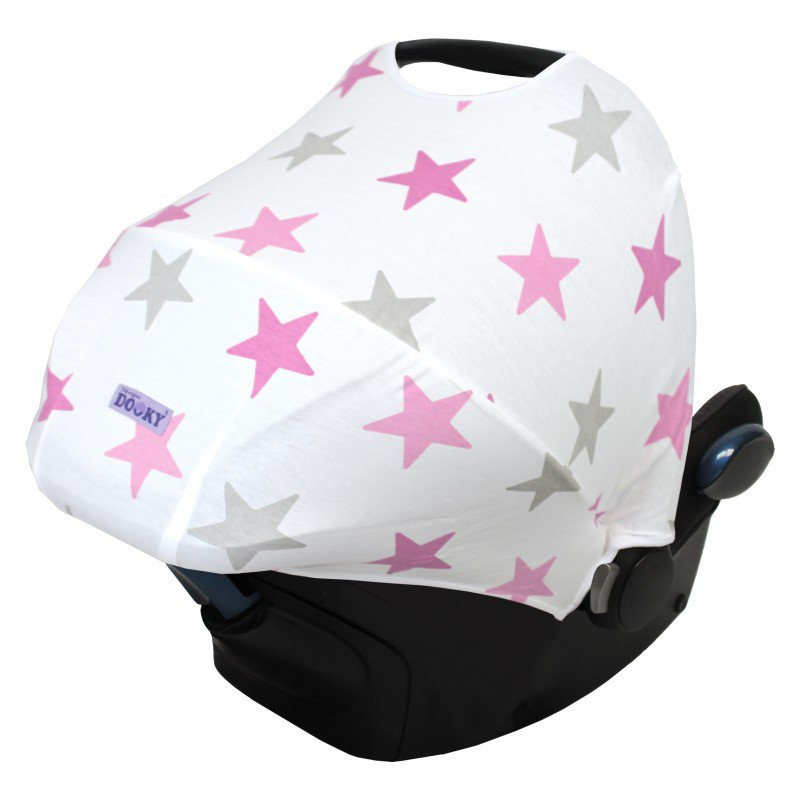 Dooky stříška Hoody Pink Stars