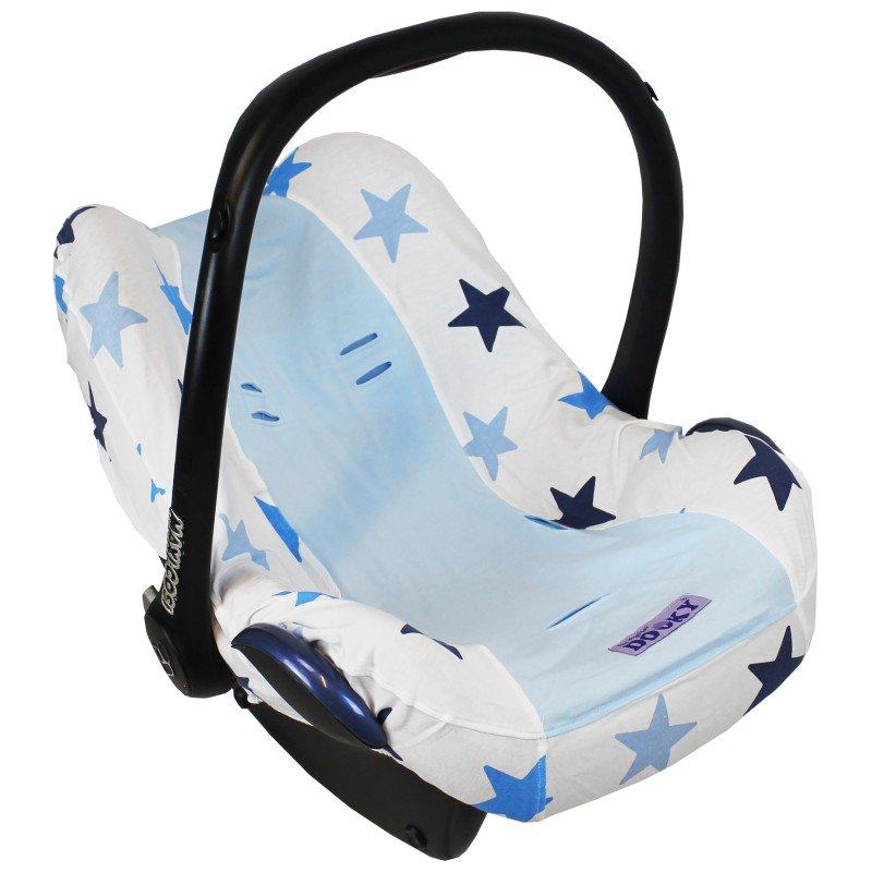 Potah na autosedačku Seat Cover 0+ Blue Stars