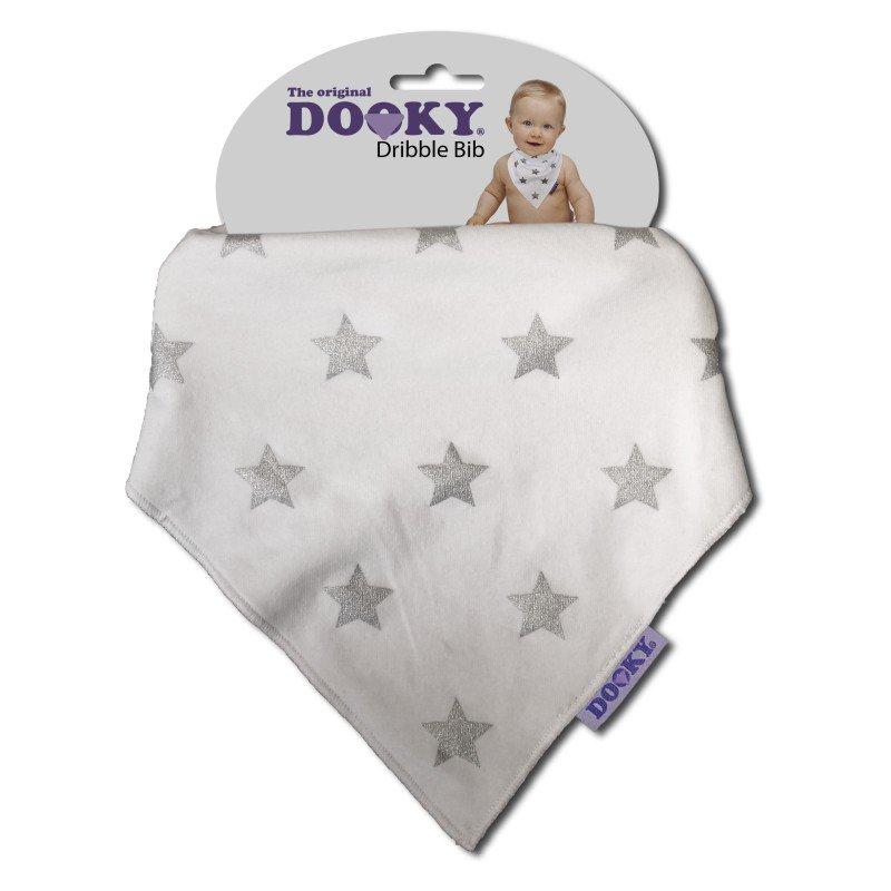 Dooky bryndáček Dribble Bib Silver Star