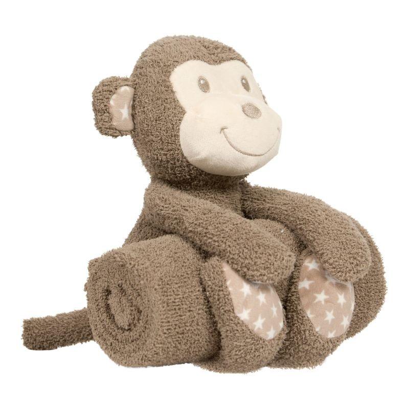 Plyšová hračka s dekou Monkey