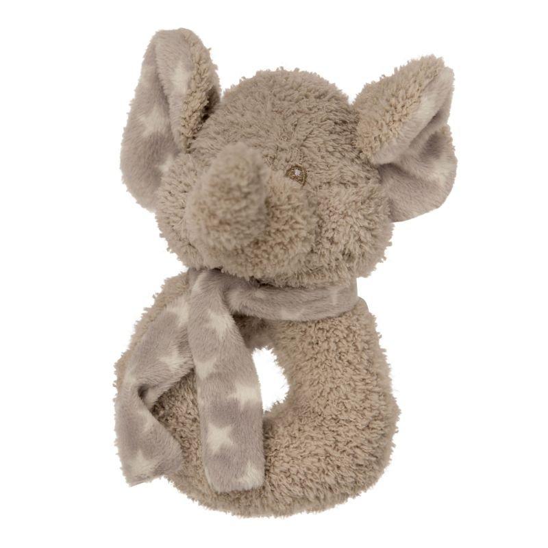 Plyšové chrastítko Elephant