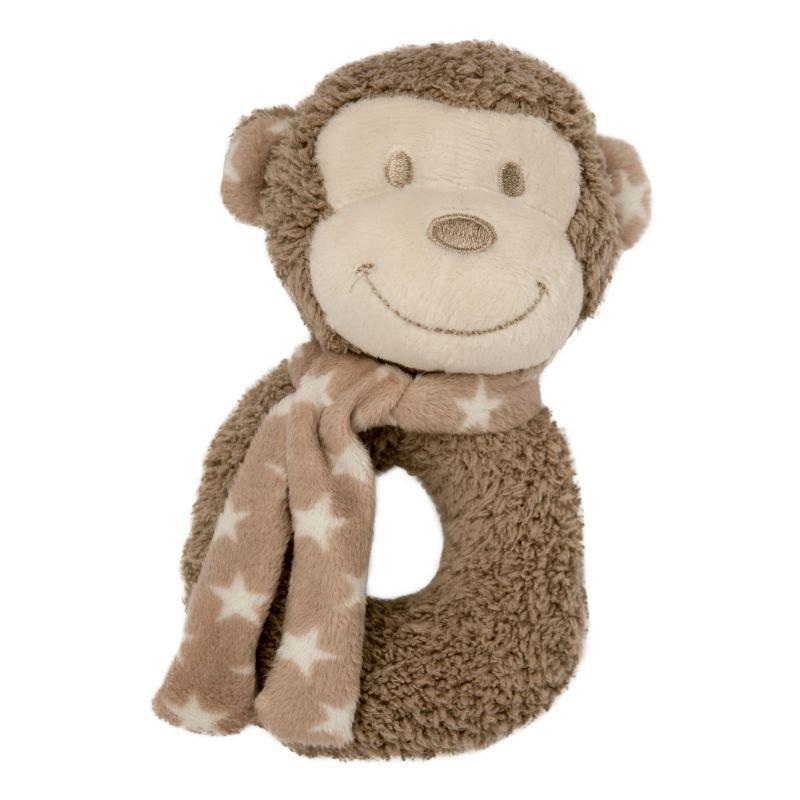 Plyšové chrastítko Monkey