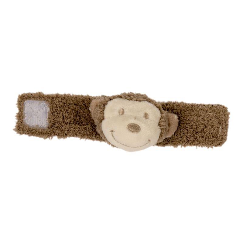 Plyšové chrastítko na ručičku Monkey