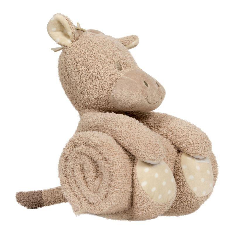 Plyšová hračka s dekou Giraffe
