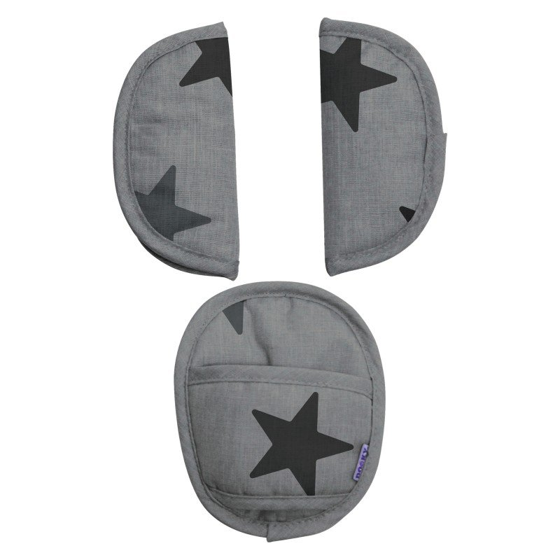 Dooky chránič pásu Universal Pads Grey Stars