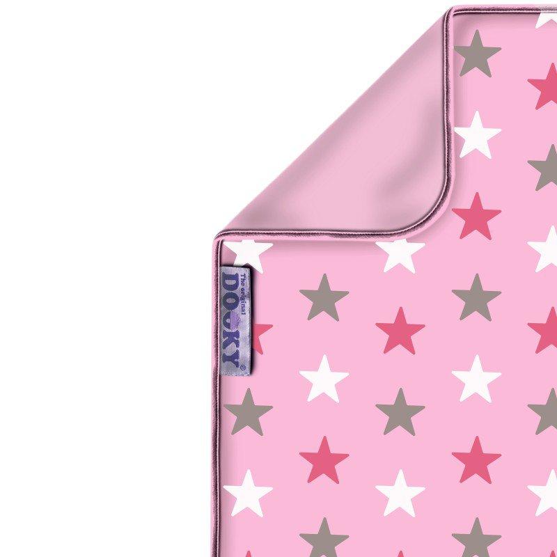 Dooky deka Blanket Baby Pink / Pink Stars