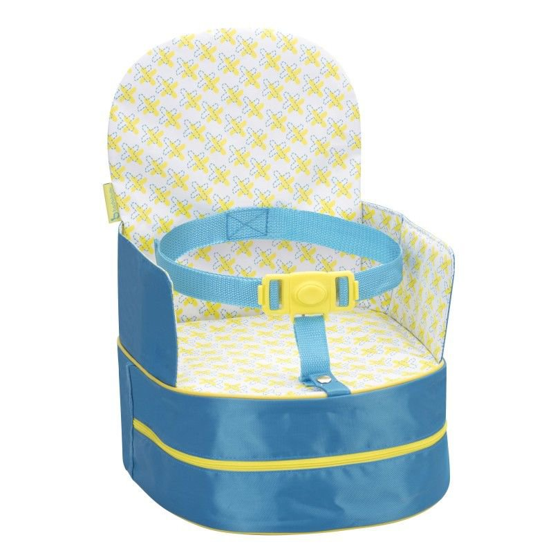 BadabullePřenosná židlička 2v1 One-the-Go Blue