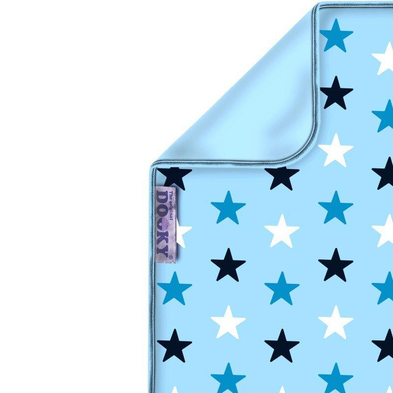 Dooky deka Blanket Baby Blue / Blue Stars