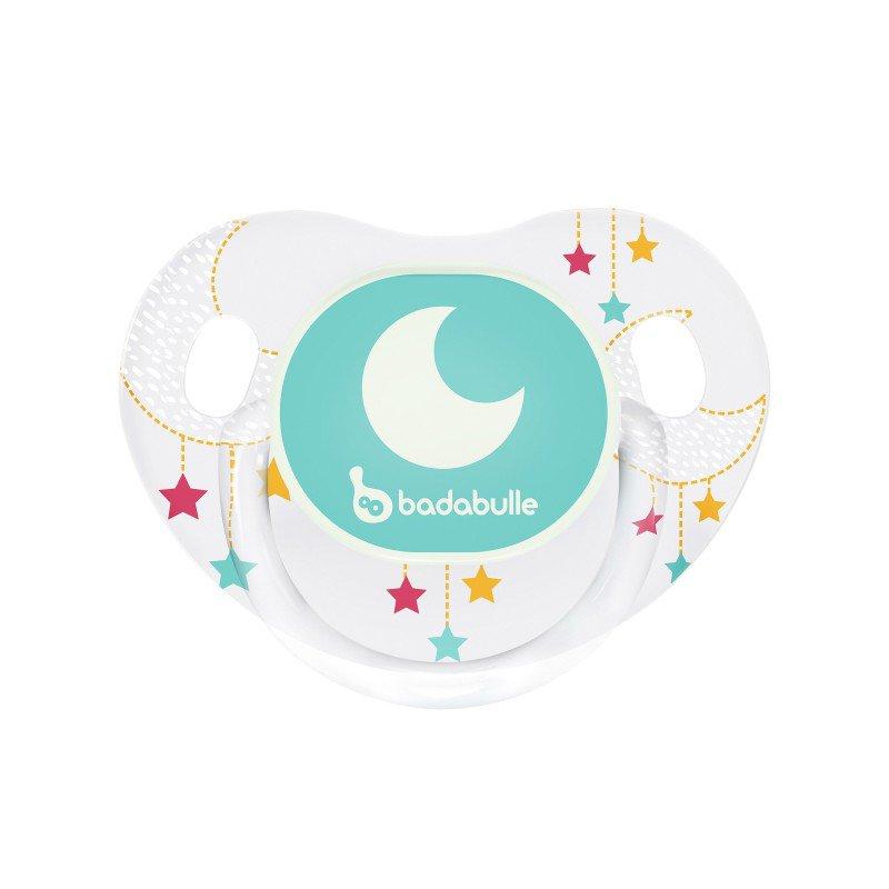 Dudlík LUMI ERGO 6-12m 2ks Moon Dream