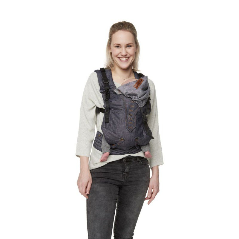 ByKay klokanka 4WAY CLICK CARRIER Dark Jeans