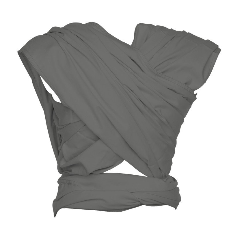 ByKayšátek WOVEN WRAP DeLuxe Steel Grey (vel. 6)