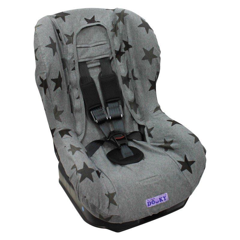 Dooky potah na autosedačku Seat Cover Group1 Grey Stars