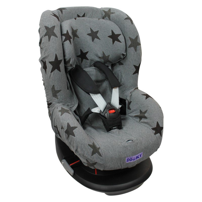 Potah na autosedačku Seat Cover Group1 Grey Stars