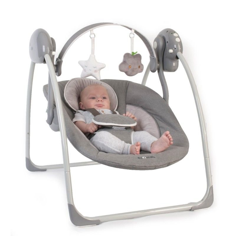 Houpačka B-Portable Swing Grey