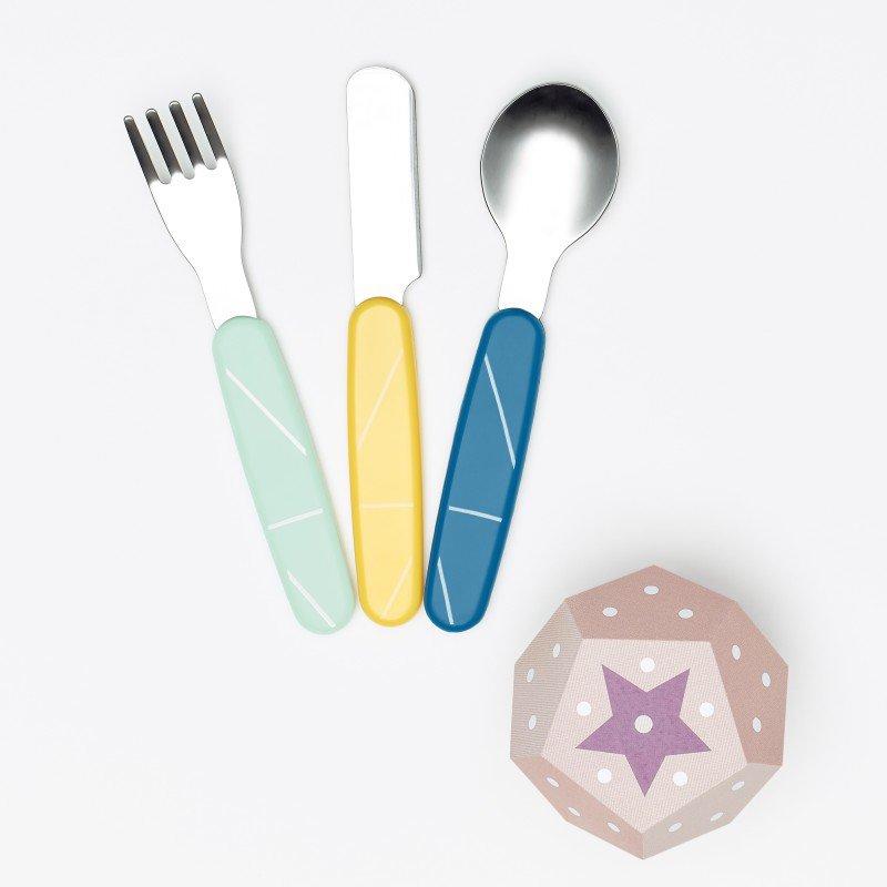 Babymoov jídelní příbor INOX Azur