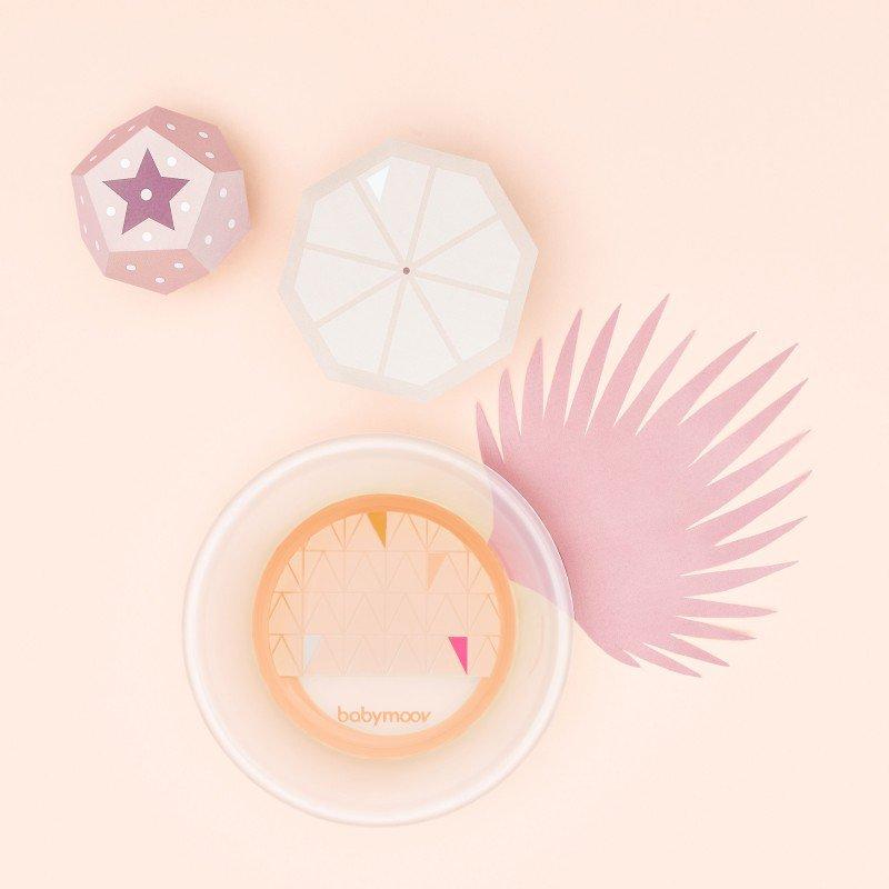 Babymoov miska ANTI-SLIP Peach
