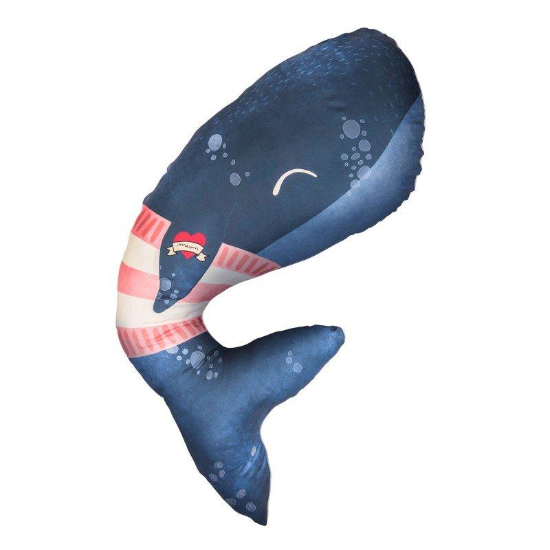 Multifunkční polštář Whale