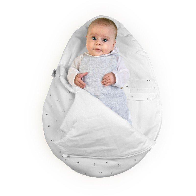 Baby Bites spací vak NEWBORN Egg Summer