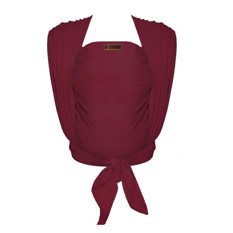 ByKay šátek WOVEN WRAP DeLuxe Berry Red (vel. 6)