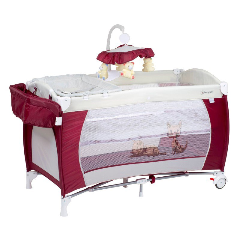 Produkt - Postýlka Sleeper DeLuxe Red