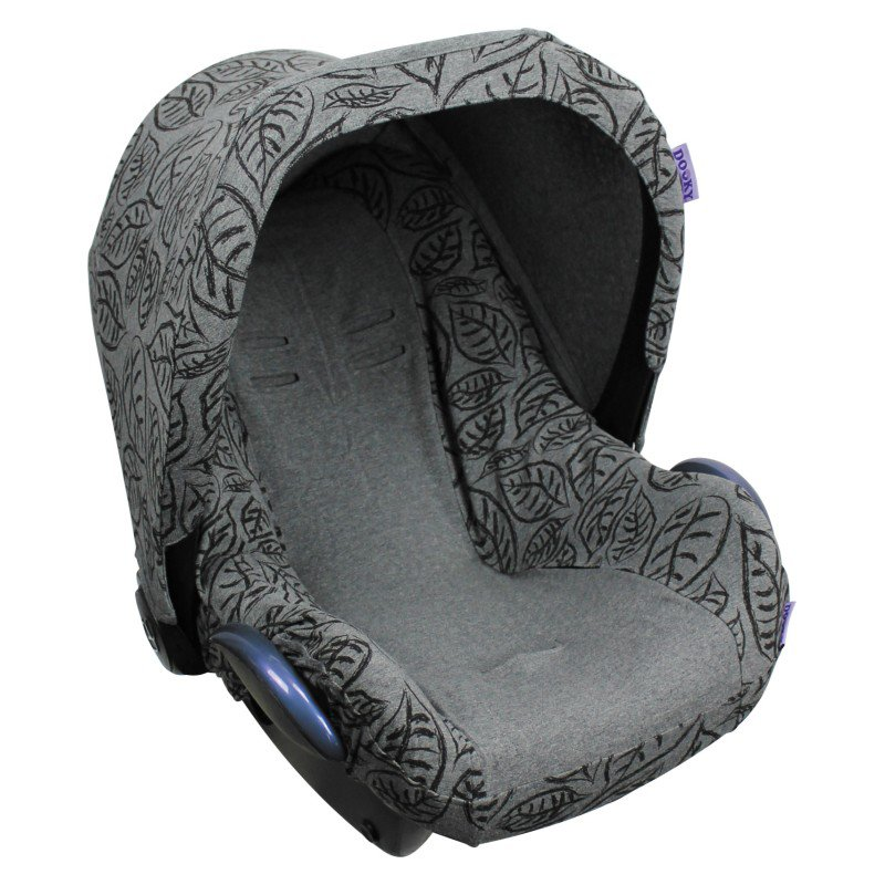 Produkt - Potah na autosedačku Seat Cover 0+ Grey Leaves