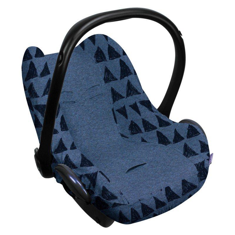 Potah na autosedačku Seat Cover 0+ Blue Tribal