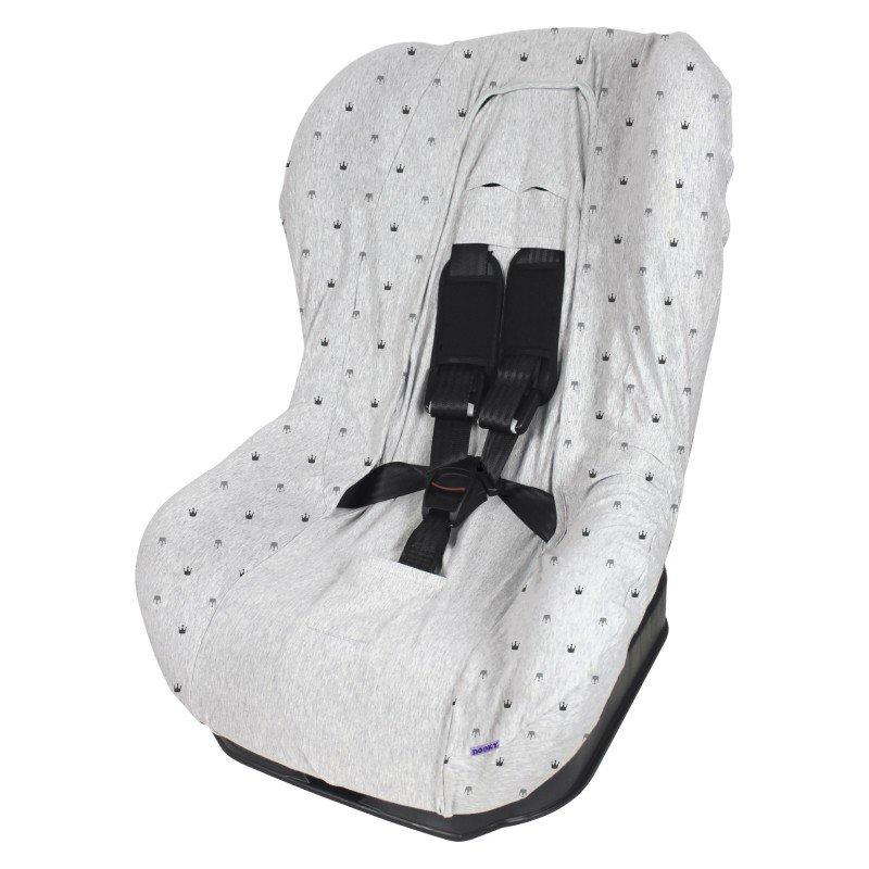 Dooky potah na autosedačku Seat Cover Group1 Light Grey Crowns