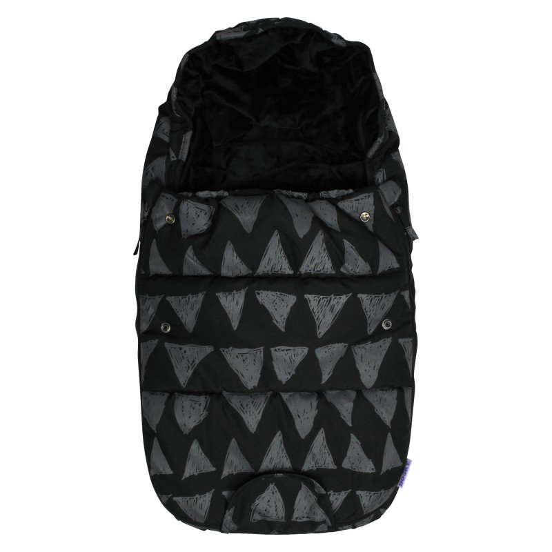 Produkt - Footmuff vel. S BLACK TRIBAL DeLuxe