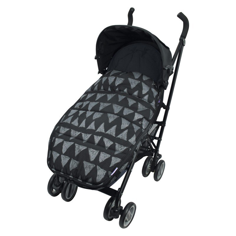 Produkt - Footmuff vel. L BLACK TRIBAL DeLuxe