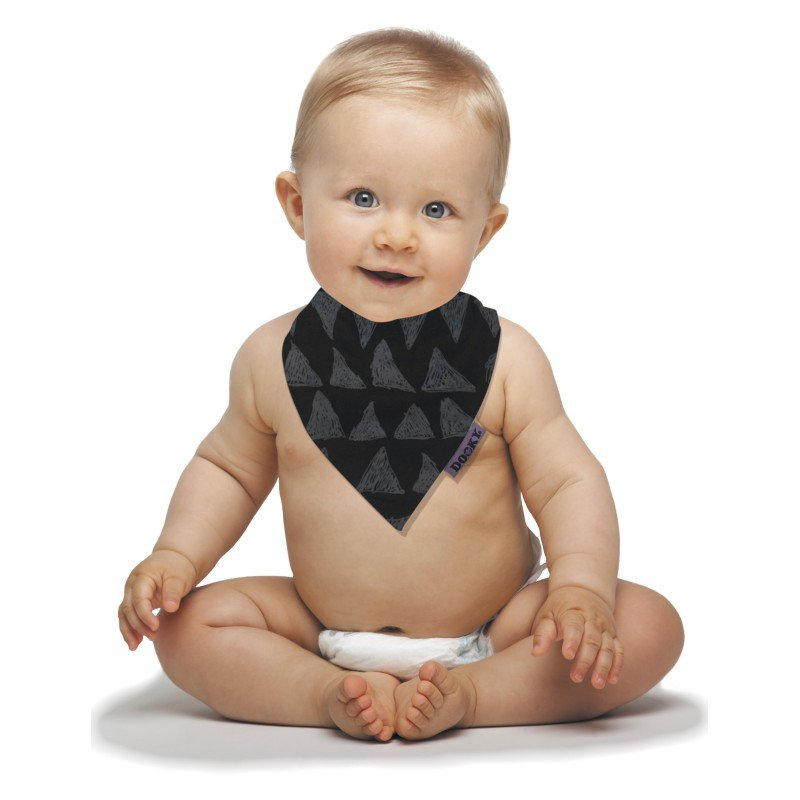 Dooky bryndáček Dribble Bib Black Tribal