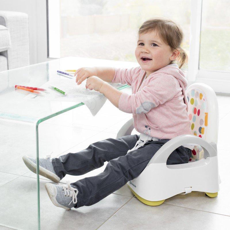 Přenosná židlička Comfort Yellow
