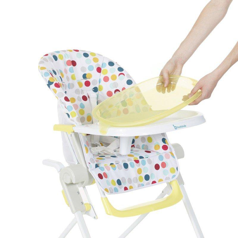 Jídelní židlička Compact Chair Yellow