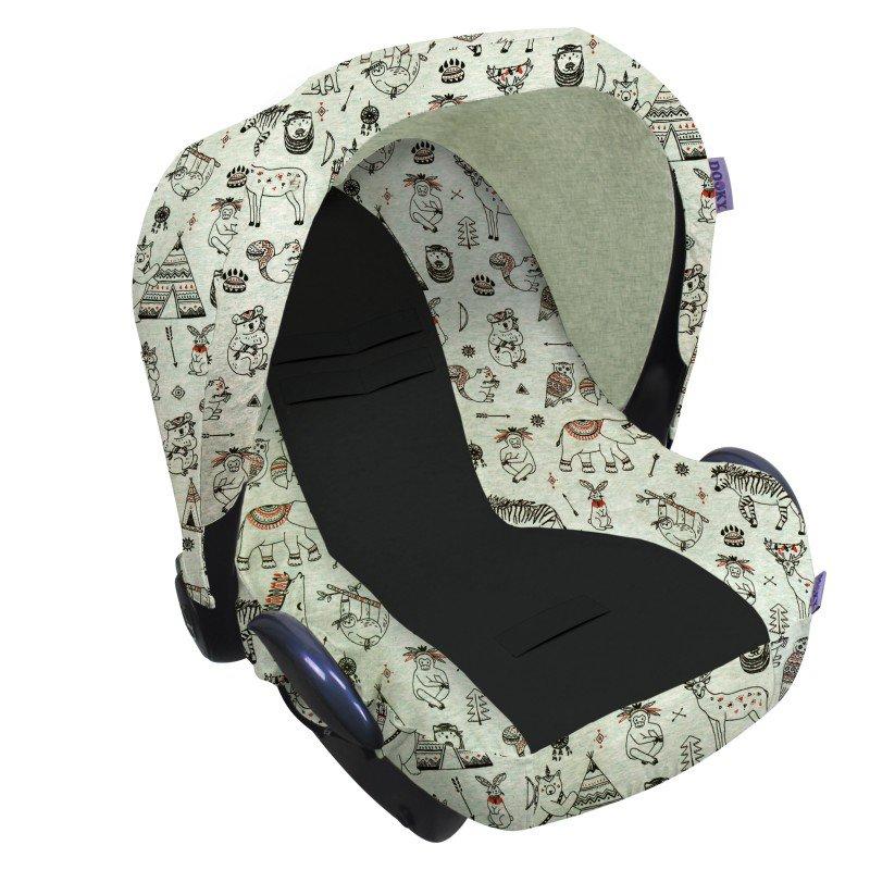 Dooky potah na autosedačku Seat Cover 0+ Limited INDIAN