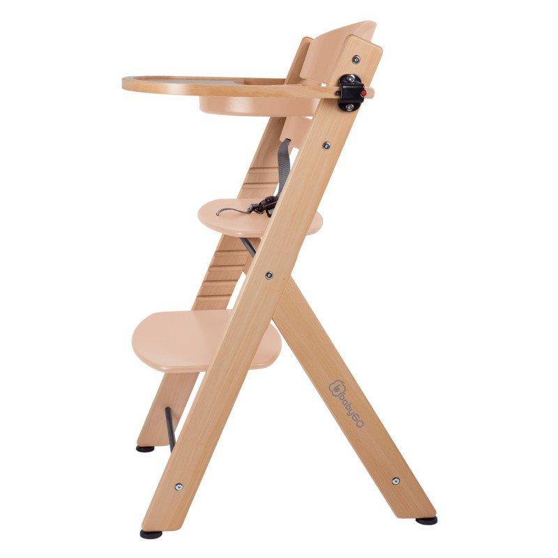 BABYGOJídelní židlička FAMILY XL Natural