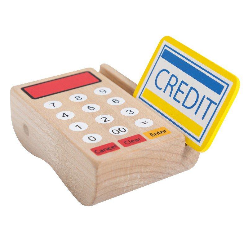 Jouéco dřevěná pokladna se scanerem 36m+