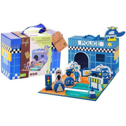 Policejní stanice v kufříku 13ks 18m+