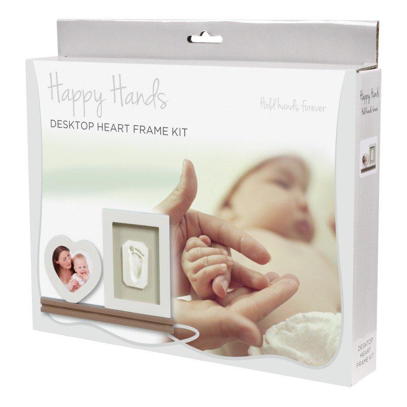 Happy Hands Heart Frame