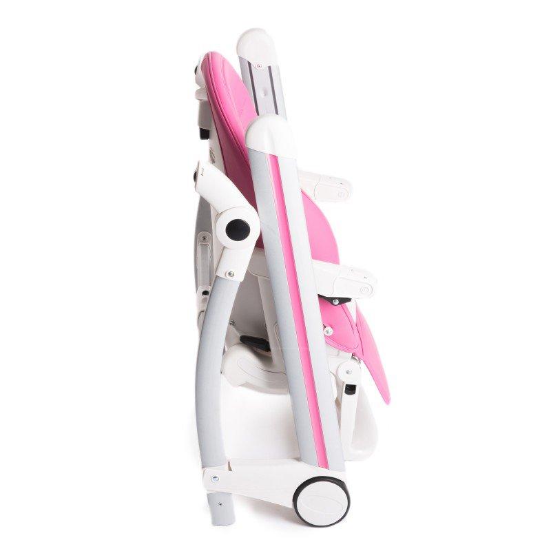 Bo Jungle jídelní židlička B-HIGH CHAIR Pink