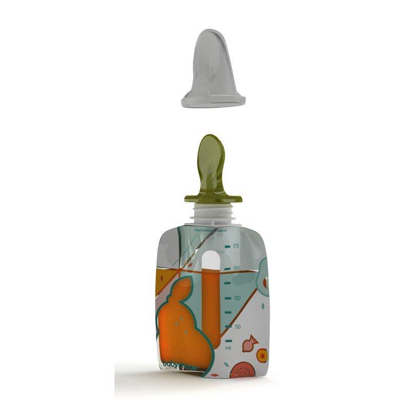 BabymoovKiinde silikonová lžička FOODII Squeeze Spoon™ 2ks