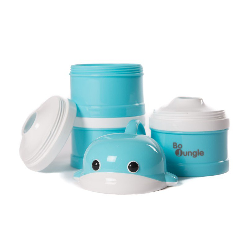 Bo Jungle dávkovač sušeného mléka B-Dose Whale Blue