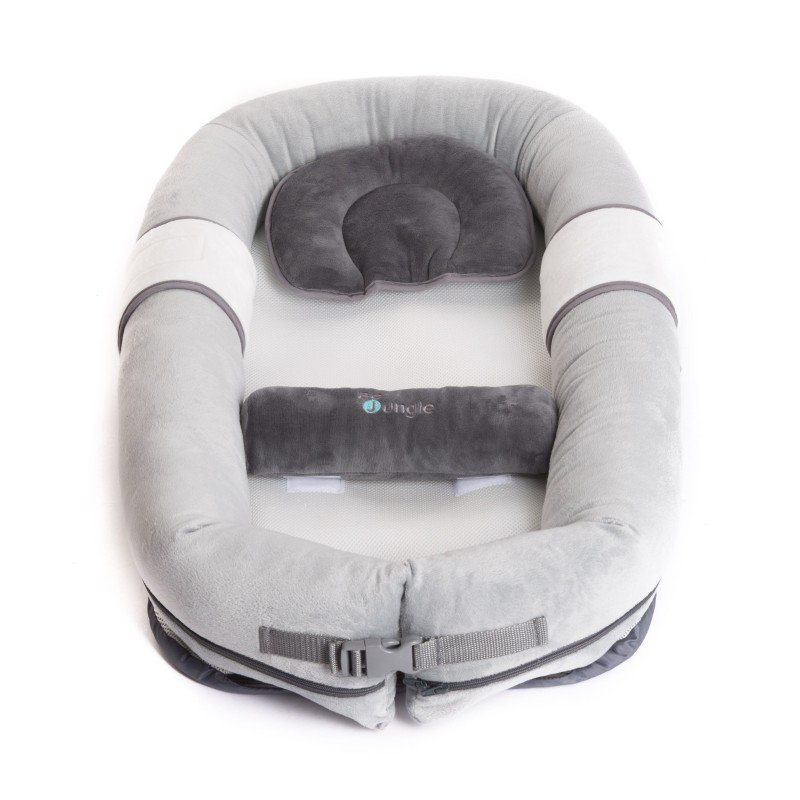 Bo Jungle hnízdečko B-BabyNest Grey