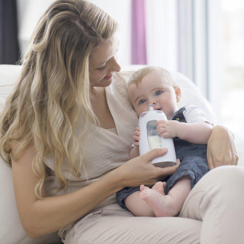 BabymoovKiinde savička TWIST Active Latch™ pomalý průtok 2ks