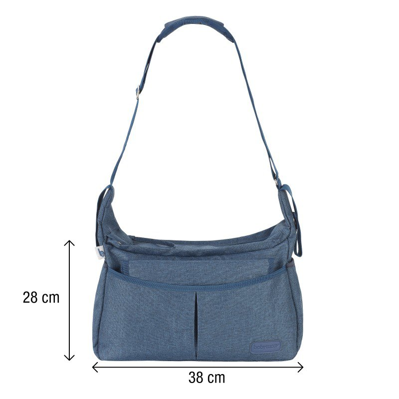 Babymoov taška Urban Bag Melanged Blue