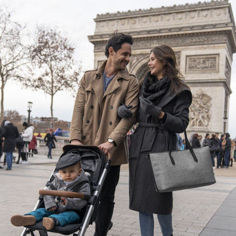 Babymoov taška Le Champs Elysées SMOKEY