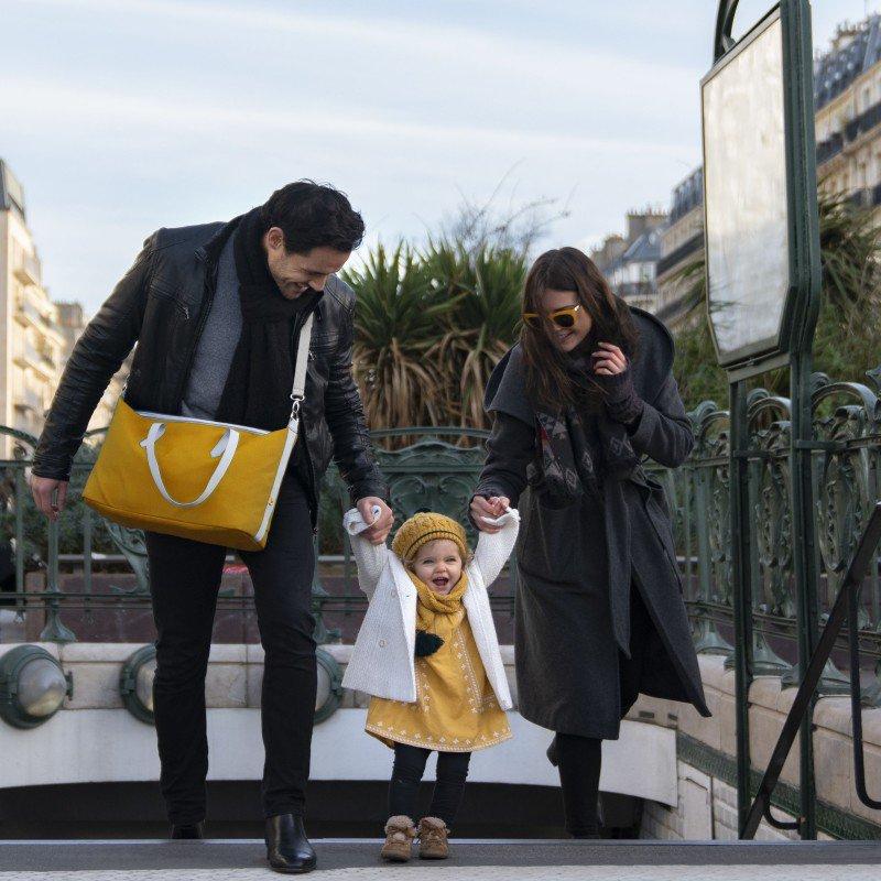 Babymoov taška Le Champs Elysées YELLOW
